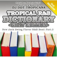 DJ DDT-TROPICANA - Tropical R&B Dictionary -Gray- -New Jack Swing Flavor R&B Best! Vol.3- (Mix CD)