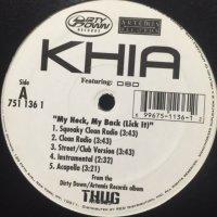 Khia feat. DSD - My Neck, My Back (12'')