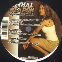 V.A. - Lethal Weapon September 2003 (inc. Mya - Fallen, Beyonce feat. Sean Paul - Baby Boy etc) (12'')