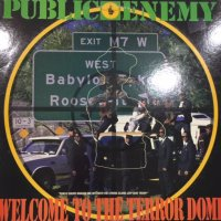 Public Enemy - Welcome To The Terrordome (12'')
