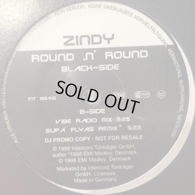 画像1: Zindy - Round 'N' Round (Supa'Flyas Remix) (12'')