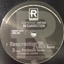 他の写真1: Common Sense - Resurrection (US Promo !!) (12'')