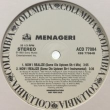 他の写真1: Menageri - Now I Realize (12'')