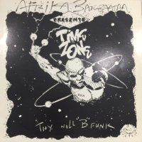 """Afrika Bambaataa Presents Time Zone - Thy Will """"B"""" Funk (inc. Very Special & In A Minute) (LP)"""