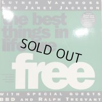 Luther Vandross & Janet Jackson With Special Guests BBD & Ralph Tresvant - The Best Things In Life Are Free (12'')