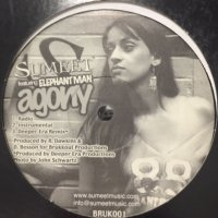 Sumeet feat. Elephant Man - Agony (12'')
