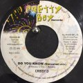 Crissy D - Do You Know (7'')