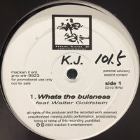 K.J. - Whats The Bulsness (12'')