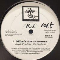 K.J. - Whats The Bulsness (12'')