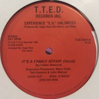 "Experience ""E.U."" Unlimited - It's A Family Affair (12'') (2nd Press)"