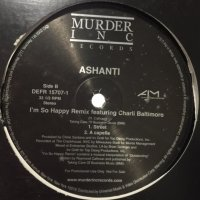 Ashanti feat. Charli Baltimore - I'm So Happy (Remix) (12'')