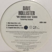 Dave Hollister feat. Redman - One Woman Man (Remix) (12'')