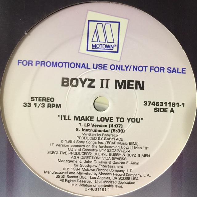 I'LL MAKE LOVE TO YOU Chords - Boyz II Men | E-Chords