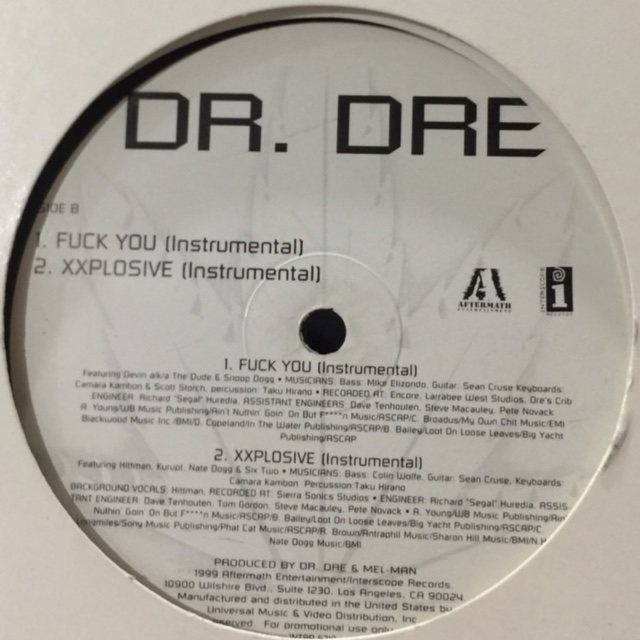 Dr dre fuck you mp3
