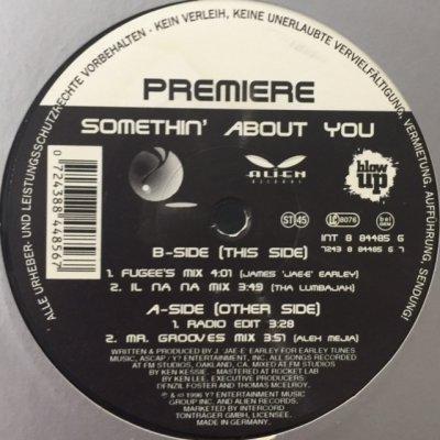 画像1: Premiere - Somethin' About You (12'')