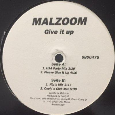 画像1: Malzoom - Give It Up (12'')