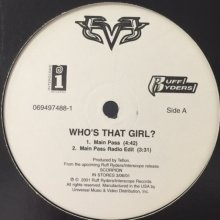 他の写真1: Eve - Who's That Girl? (12'')