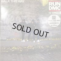 Run D.M.C. feat. Aerosmith - Walk This Way (b/w My Adidas) (12'')