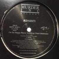 Ashanti feat. Charli Baltimore - I'm So Happy (Remix) (12'')