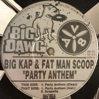 Big Kap & Fatman Scoop - Party Anthem (12'')