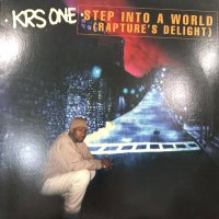 Krs-One - Step Into A World (Rapture's Delight) (12'')