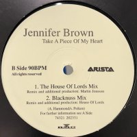 Jennifer Brown - Take A Piece Of My Heart (12'')