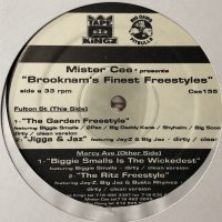 Mister Cee Presents - Brooknam's Finest Freestyles (12'')