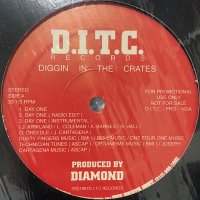 D.I.T.C. (Diggin' In The Crates) (O.C., AG, Big L, Lord Finesse & Diamond) - Day One (12'')