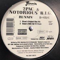 2Pac & The Notorious B.I.G. - Runnin' (Stonebridge Rmx) (12'')