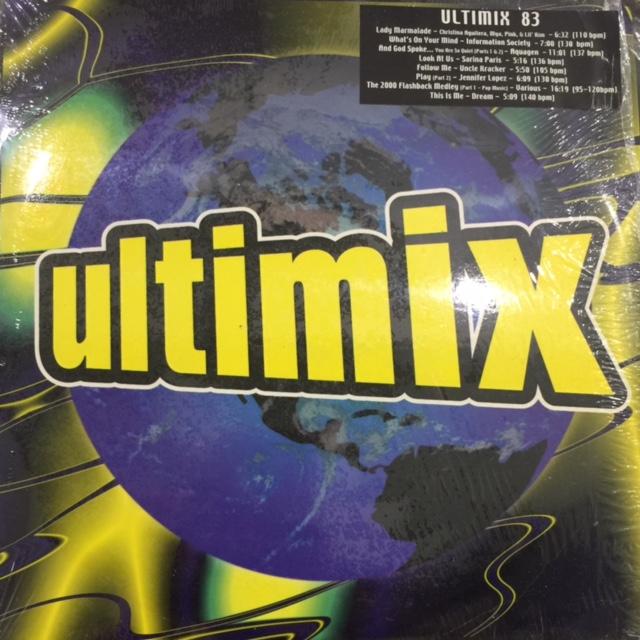 V A  - Ultimix 83 (inc  Uncle Kracker - Follow Me) (12''×2)