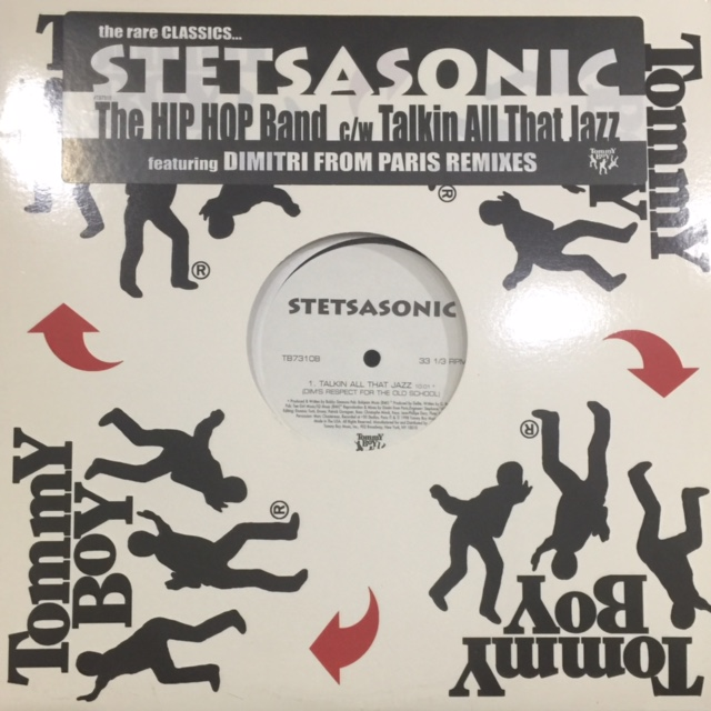 Stetsasonic - Talkin All That Jazz (Dim's Respect For The Old School) (a/w  Hip Hop Band) (12'')